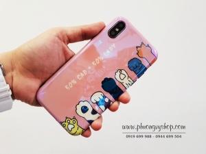 Ốp hình Cute BÓNG iPhone X